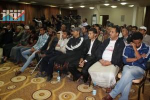 المؤتمر الصحفي لجرحى الثورة السلمية (12)
