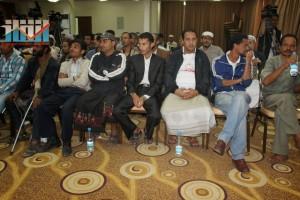 المؤتمر الصحفي لجرحى الثورة السلمية (13)