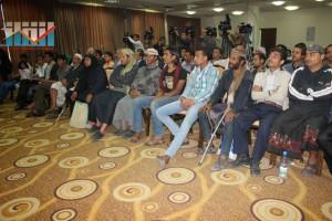 المؤتمر الصحفي لجرحى الثورة السلمية (14)