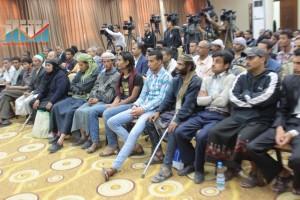 المؤتمر الصحفي لجرحى الثورة السلمية (15)