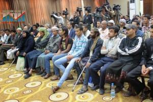 المؤتمر الصحفي لجرحى الثورة السلمية (16)