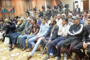 المؤتمر الصحفي لجرحى الثورة السلمية (17)