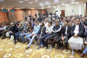 المؤتمر الصحفي لجرحى الثورة السلمية (18)