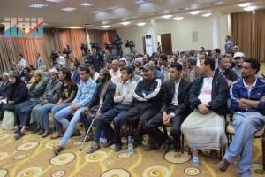 المؤتمر الصحفي لجرحى الثورة السلمية (19)