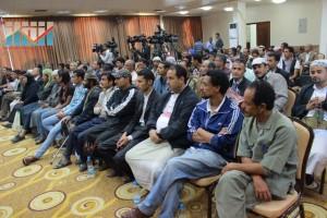 المؤتمر الصحفي لجرحى الثورة السلمية (20)