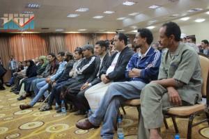 المؤتمر الصحفي لجرحى الثورة السلمية (21)