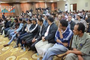 المؤتمر الصحفي لجرحى الثورة السلمية (24)