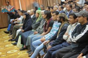 المؤتمر الصحفي لجرحى الثورة السلمية (25)