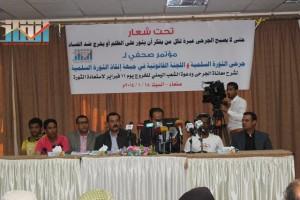 المؤتمر الصحفي لجرحى الثورة السلمية (40)