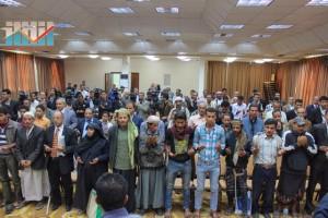 المؤتمر الصحفي لجرحى الثورة السلمية (53)