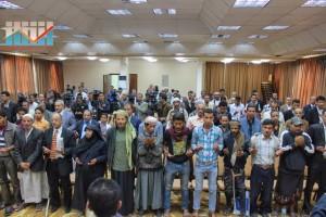 المؤتمر الصحفي لجرحى الثورة السلمية (54)
