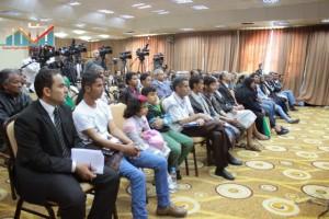 المؤتمر الصحفي لجرحى الثورة السلمية (6)