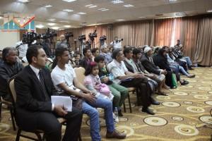 المؤتمر الصحفي لجرحى الثورة السلمية (7)