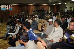 المؤتمر الصحفي لجرحى الثورة السلمية (90)