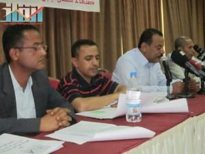 اشهار لجنة التعليم الفني والتدريب المهني في جبهة انقاذ الثورة السلمية (2)