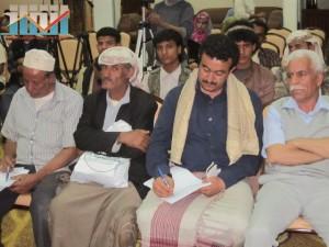 اشهار لجنة التعليم الفني والتدريب المهني في جبهة انقاذ الثورة السلمية (3)