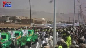 الالاف يشيعون 6 من شهداء مجزرة الضبر بعمران التي ارتكبتها قوات القشيبي بحق مسيرة سلمية (26)