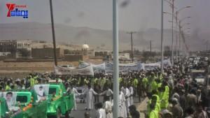 الالاف يشيعون 6 من شهداء مجزرة الضبر بعمران التي ارتكبتها قوات القشيبي بحق مسيرة سلمية (32)