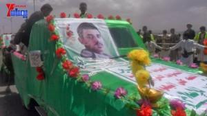 الالاف يشيعون 6 من شهداء مجزرة الضبر بعمران التي ارتكبتها قوات القشيبي بحق مسيرة سلمية (36)
