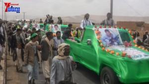 الالاف يشيعون 6 من شهداء مجزرة الضبر بعمران التي ارتكبتها قوات القشيبي بحق مسيرة سلمية (63)
