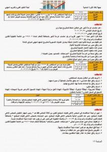 تقرير تقييم ورصد أولي لأداء وزارة التعليم الفني والتدريب المهني (16)