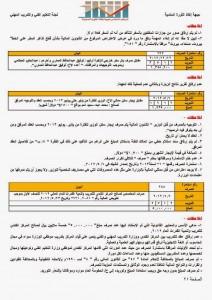 تقرير تقييم ورصد أولي لأداء وزارة التعليم الفني والتدريب المهني (21)