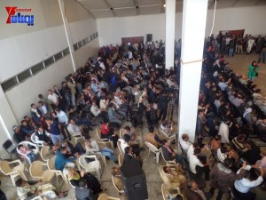 شباب الاشتراكي يحتفون بالوزيرة أروى عثمان في حفل تكريمي في العاصمة صنعاء (57)