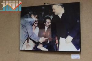 فعالية احياء الذكرى الـ15 لرحيل البردوني التي احيتها جبهة الانقاذ في بيت الثقافة بصنعاء (10)