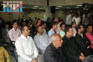 فعالية احياء الذكرى الـ15 لرحيل البردوني التي احيتها جبهة الانقاذ في بيت الثقافة بصنعاء (101)
