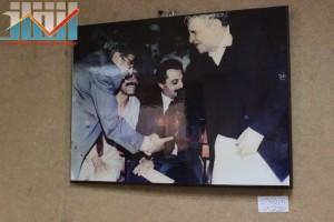 فعالية احياء الذكرى الـ15 لرحيل البردوني التي احيتها جبهة الانقاذ في بيت الثقافة بصنعاء (11)