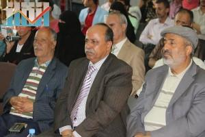 فعالية احياء الذكرى الـ15 لرحيل البردوني التي احيتها جبهة الانقاذ في بيت الثقافة بصنعاء (115)