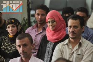 فعالية احياء الذكرى الـ15 لرحيل البردوني التي احيتها جبهة الانقاذ في بيت الثقافة بصنعاء (117)