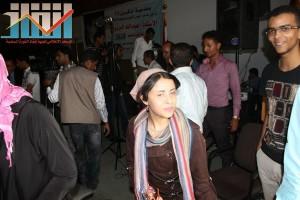فعالية احياء الذكرى الـ15 لرحيل البردوني التي احيتها جبهة الانقاذ في بيت الثقافة بصنعاء (150)