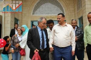 فعالية احياء الذكرى الـ15 لرحيل البردوني التي احيتها جبهة الانقاذ في بيت الثقافة بصنعاء (163)
