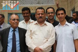 فعالية احياء الذكرى الـ15 لرحيل البردوني التي احيتها جبهة الانقاذ في بيت الثقافة بصنعاء (164)