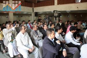 فعالية احياء الذكرى الـ15 لرحيل البردوني التي احيتها جبهة الانقاذ في بيت الثقافة بصنعاء (31)