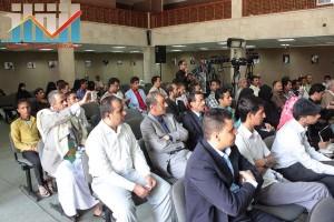 فعالية احياء الذكرى الـ15 لرحيل البردوني التي احيتها جبهة الانقاذ في بيت الثقافة بصنعاء (32)