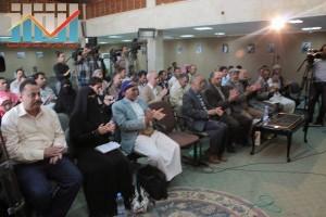 فعالية احياء الذكرى الـ15 لرحيل البردوني التي احيتها جبهة الانقاذ في بيت الثقافة بصنعاء (33)