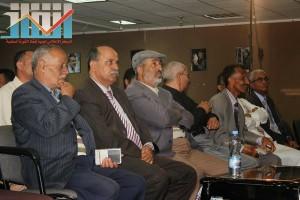 فعالية احياء الذكرى الـ15 لرحيل البردوني التي احيتها جبهة الانقاذ في بيت الثقافة بصنعاء (35)