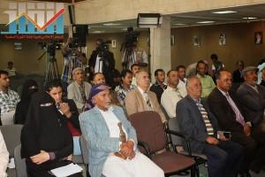 فعالية احياء الذكرى الـ15 لرحيل البردوني التي احيتها جبهة الانقاذ في بيت الثقافة بصنعاء (36)