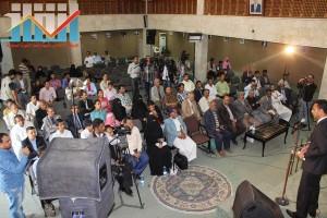 فعالية احياء الذكرى الـ15 لرحيل البردوني التي احيتها جبهة الانقاذ في بيت الثقافة بصنعاء (37)