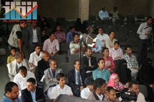 فعالية احياء الذكرى الـ15 لرحيل البردوني التي احيتها جبهة الانقاذ في بيت الثقافة بصنعاء (39)