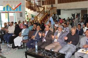 فعالية احياء الذكرى الـ15 لرحيل البردوني التي احيتها جبهة الانقاذ في بيت الثقافة بصنعاء (54)