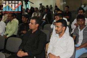 فعالية احياء الذكرى الـ15 لرحيل البردوني التي احيتها جبهة الانقاذ في بيت الثقافة بصنعاء (57)