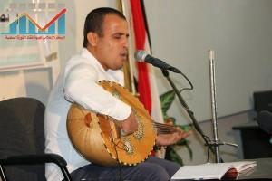 فعالية احياء الذكرى الـ15 لرحيل البردوني التي احيتها جبهة الانقاذ في بيت الثقافة بصنعاء (58)