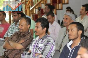 فعالية احياء الذكرى الـ15 لرحيل البردوني التي احيتها جبهة الانقاذ في بيت الثقافة بصنعاء (60)