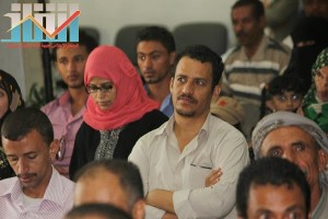 فعالية احياء الذكرى الـ15 لرحيل البردوني التي احيتها جبهة الانقاذ في بيت الثقافة بصنعاء (64)