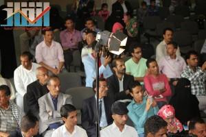 فعالية احياء الذكرى الـ15 لرحيل البردوني التي احيتها جبهة الانقاذ في بيت الثقافة بصنعاء (81)