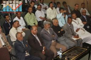 فعالية احياء الذكرى الـ15 لرحيل البردوني التي احيتها جبهة الانقاذ في بيت الثقافة بصنعاء (82)
