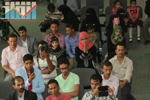فعالية احياء الذكرى الـ15 لرحيل البردوني التي احيتها جبهة الانقاذ في بيت الثقافة بصنعاء (86)